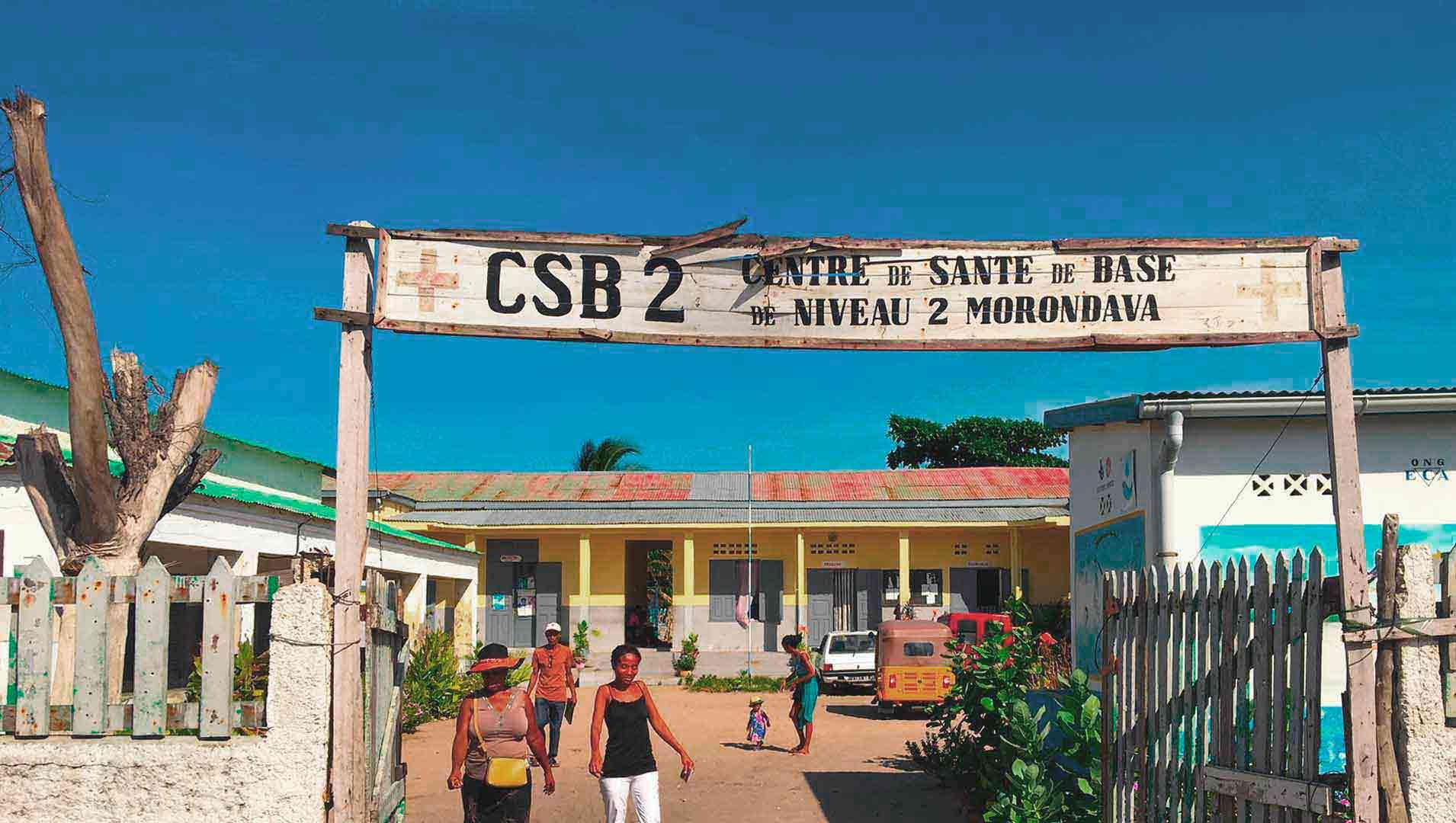 Centre de santé à Madagascar