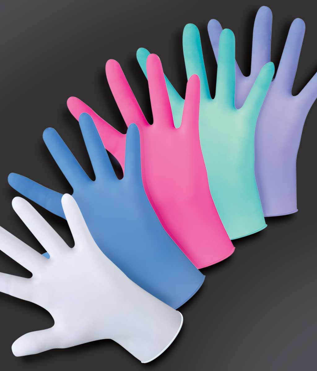 gants de couleur medibase