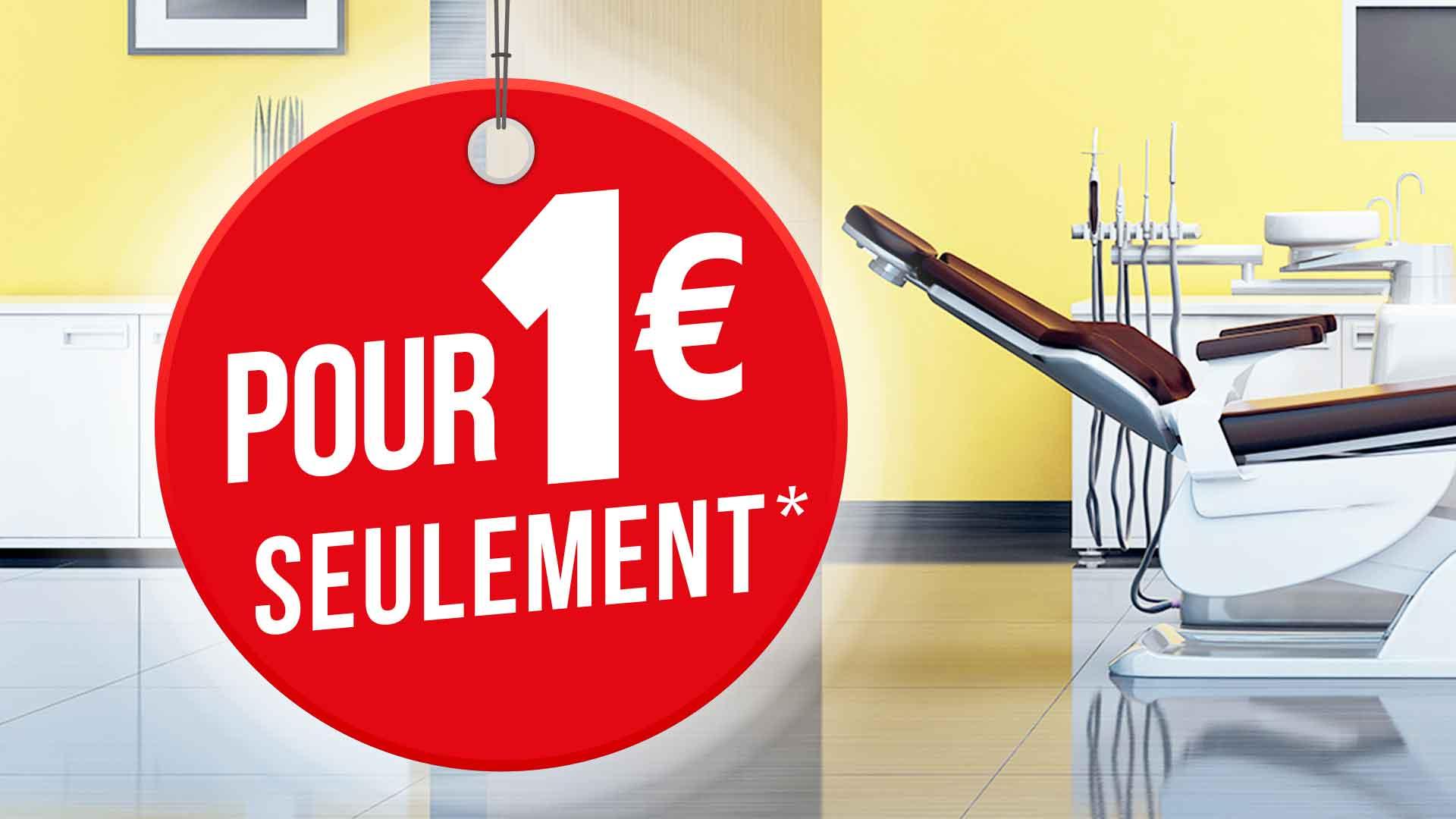 Bannière pour appliquer une offre pour 1€ de plus