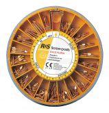 Screw-posts Gold Plated - La boîte de 120 screw-posts dorés