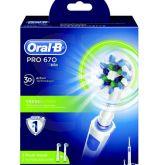 Brosse à dents Pro 670 Cross Action- La brosse à dents électrique