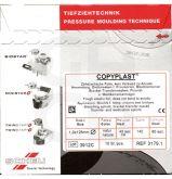 Plaques Copyplast 0.5x125 mm - La boite de 10 plaques copyplast