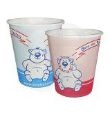 Gobelets papier pour enfants - Le carton de 100 gobelets