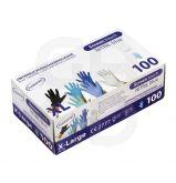 Gants nitrile bleu screen touch - La boîte de 100 gants