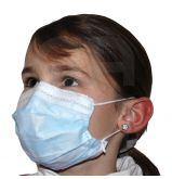 Masques enfants OP Air Type II Bleu - La boîte de 50 masques