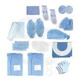 Kit d'implantologie Duo en polyéthylène - 5 kits