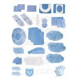 Kit d'implantologie Protect en polyéthylène - Le carton de 5 kits