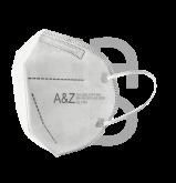 Masques FFP2 blanc - La boîte de 10 masques