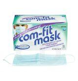 Masques chirurgicaux Com-Fit Fluid Resistant - La boite de 50 masques bleus
