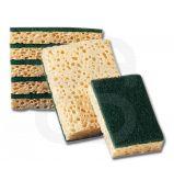 Tampons abrasifs suréponge végétale - Le lot de 10 tampons