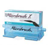 MICROBRUSH X AVEC DISTRIBUTEUR EXTRA FIN NOIR (100)