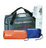 Sac avec Pochettes Adulte/Enfant - Pour Kit Oxygene 1Ere Urgence